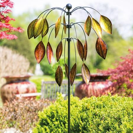Evergreen Enterprises 3 Tiered Tree Kinetic Wind Spinner ()