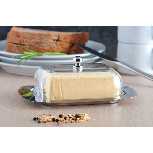 Berghoff Studio Butter Dish w/ Acrylic Cover