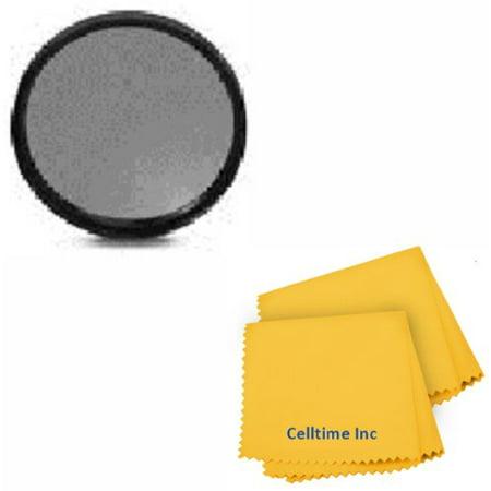 72MM ND Filter for CANON (EF 35mm f/1.4L, EF 85mm f/1.2L II, EF 135mm f/2L, 28-135mm f/3.5-5.6 IS USM), NIKON (85mm f/1.4, 18 200mm f/3.5 5.6G) DSLR Zoom Lenses + Celltime Elite Cleaning