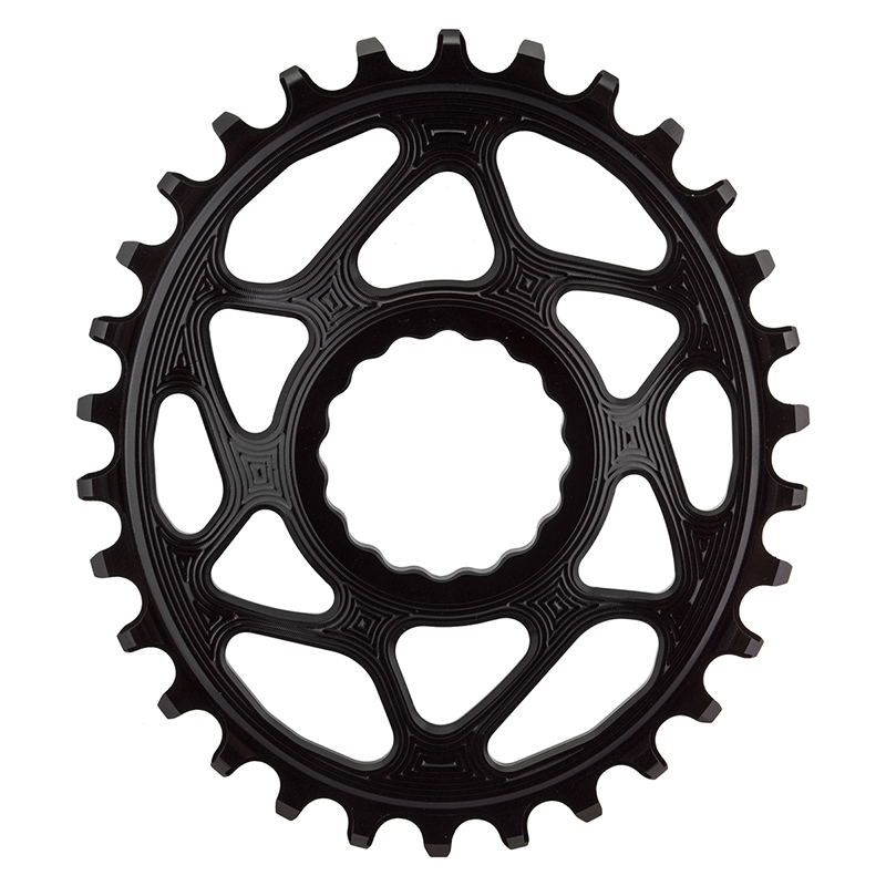 RaceFace Narrow Wide Oval Chainring Direct Mount CINCH 30t Black