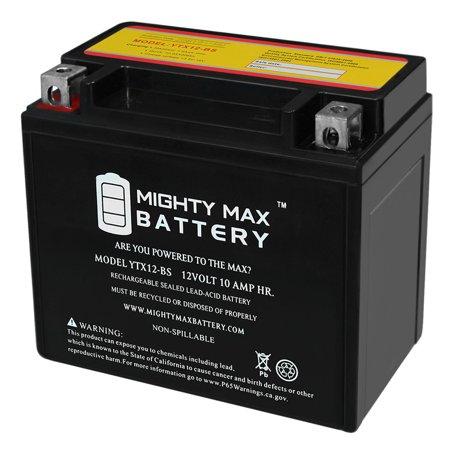 YTX12-BS 12V 10AH Battery for Kawasaki KLE650 Versys