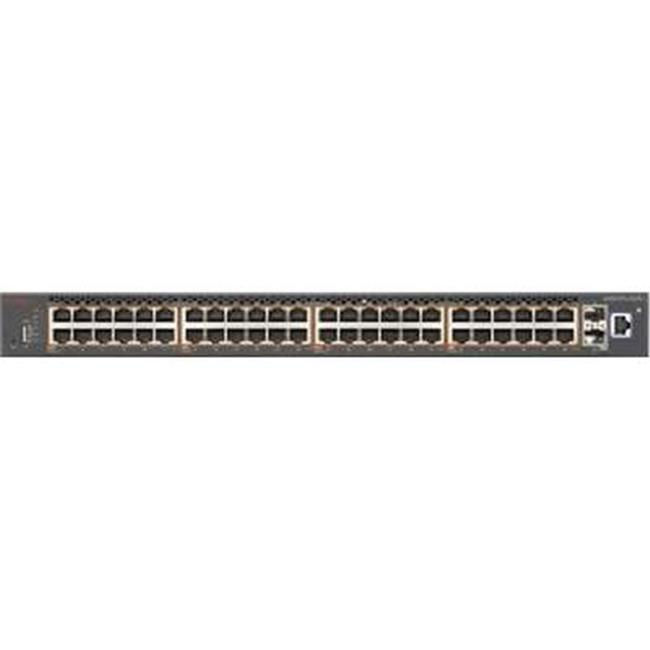 Extreme Networks AL5900A4F-E6 Ethernet Routing Switch 5952GTS 48 10-100-1000 802.3At PWR Plus & 4 SFP Plus... by Extreme Networks