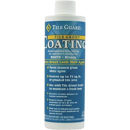 Homax Tile Grout Coating, White, 8oz