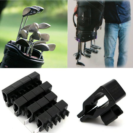 Meigar Golf Club Organizers 14pcs 1set Clip Power Holder to Protect Iron Putter on (Golf Club Clip)