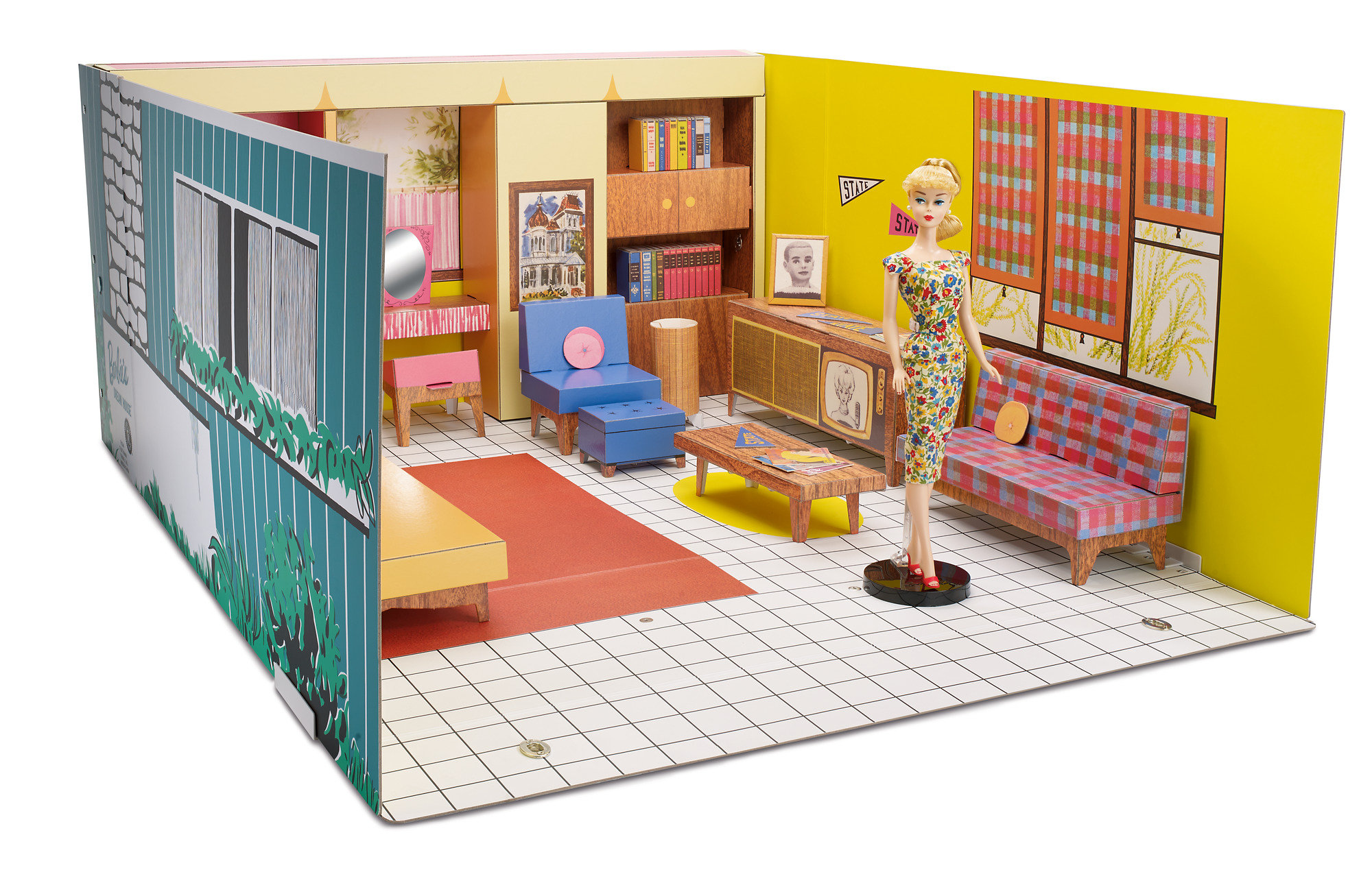 Barbies Original Dream House Signature Collection by Mattel