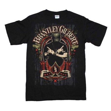 Brantley Gilbert Crossed Arms T-Shirt - Black - XL
