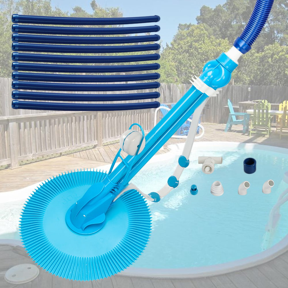 Pool Cleaners Vacuum Professional E Z Suction Side Above Ground Suction Pool Cleaners With A Regulator Valve And Ten Durable Hoses Remove Swimming Pool Dirt Leaves Debris Bugs Pebbles S10938 Walmart Com Walmart Com