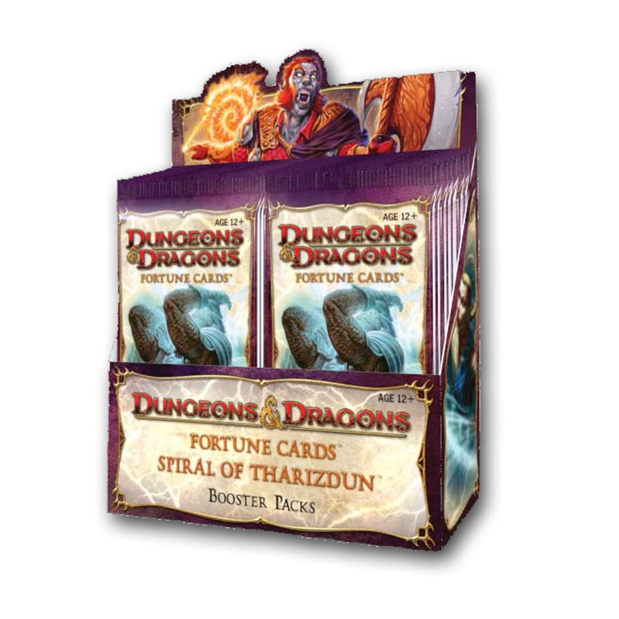 D&D Fortune Cards: Spiral of Tharizdun Boosters (24 Packs) D&DFORTUNEST