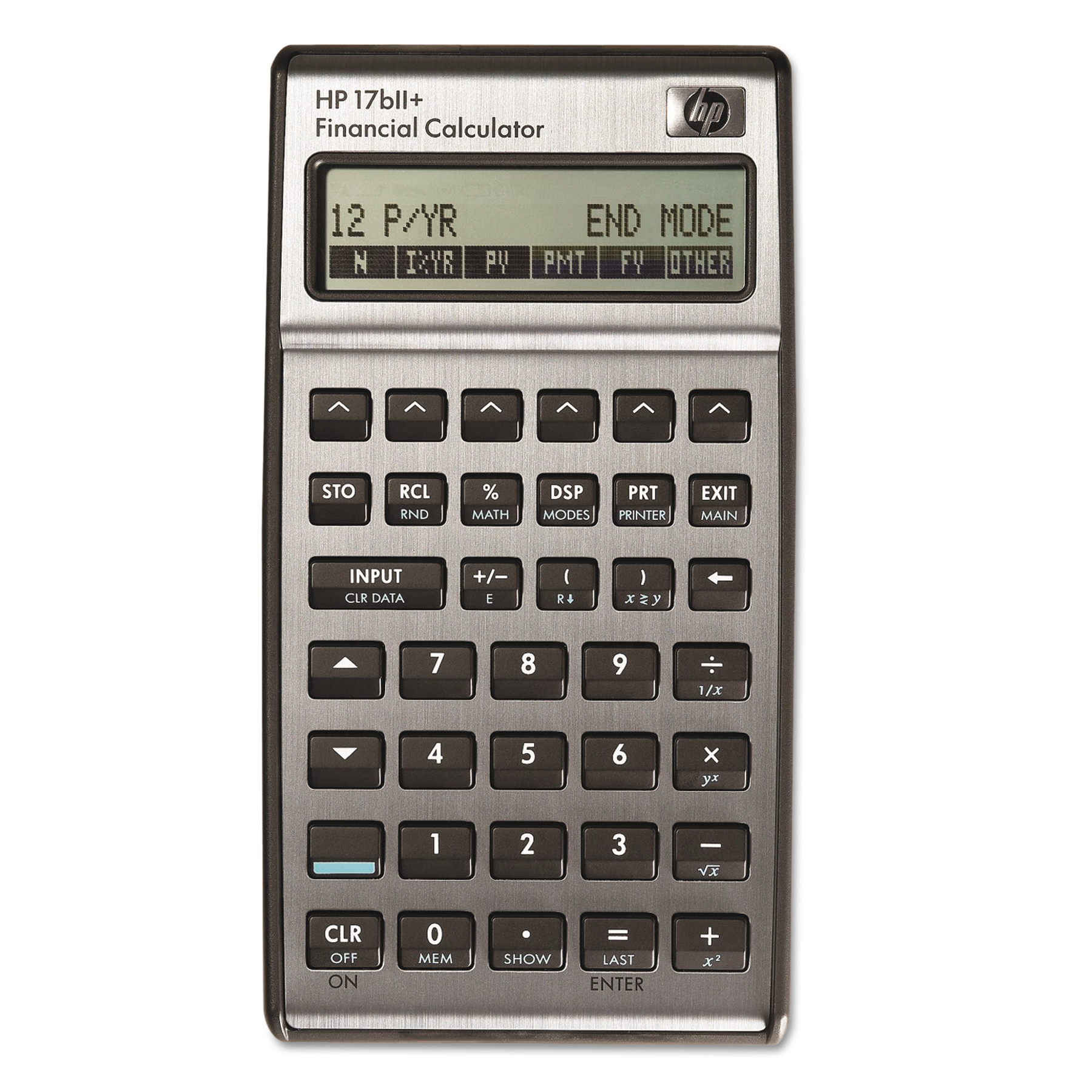Hp Bii Financial Calculator Digit Lcd  WalmartCom