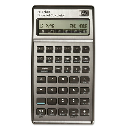 Hp 17Bii  Financial Calculator  22 Digit Lcd