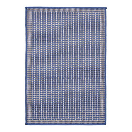 Terrace Patio Rug - Liora Manne Terrace 1762/33 Texture Marine Area Rug 23 Inches X 35 Inches