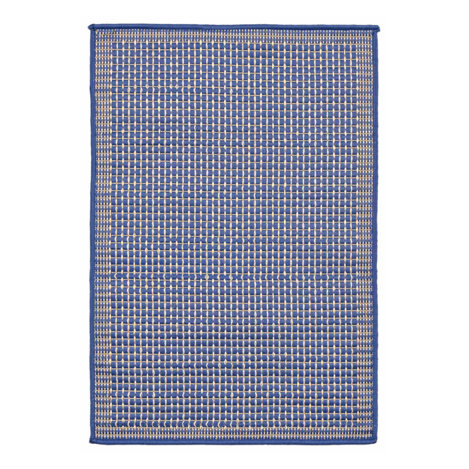 Liora Manne Terrace 1762/33 Texture Marine Area Rug 23 Inches X 35 Inches