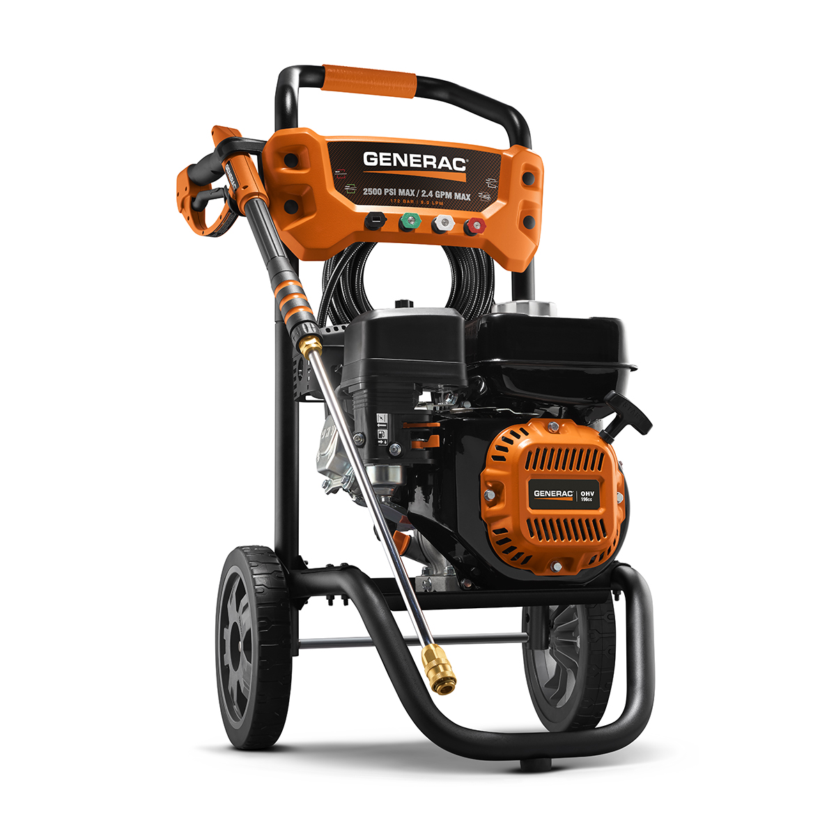 6921- Generac 2500 PSI 2.4 GPM Pressure Washer (50 State CSA) by Generac Power Systems