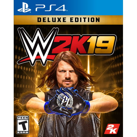 WWE 2K19 Deluxe Edition, 2K, PlayStation 4, 710425570728