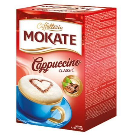- Caffetteria Mokate Cappuccino Caffee Classic Mix 150g Box