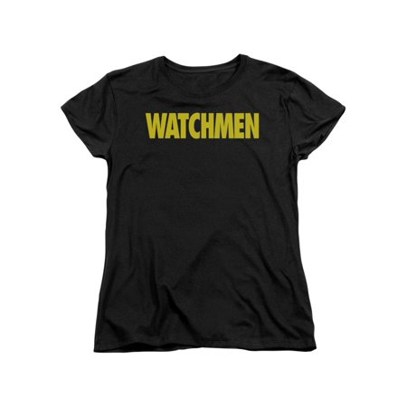 Watchmen Alan Moore Logo Comic Book Movie Women's T-Shirt Tee