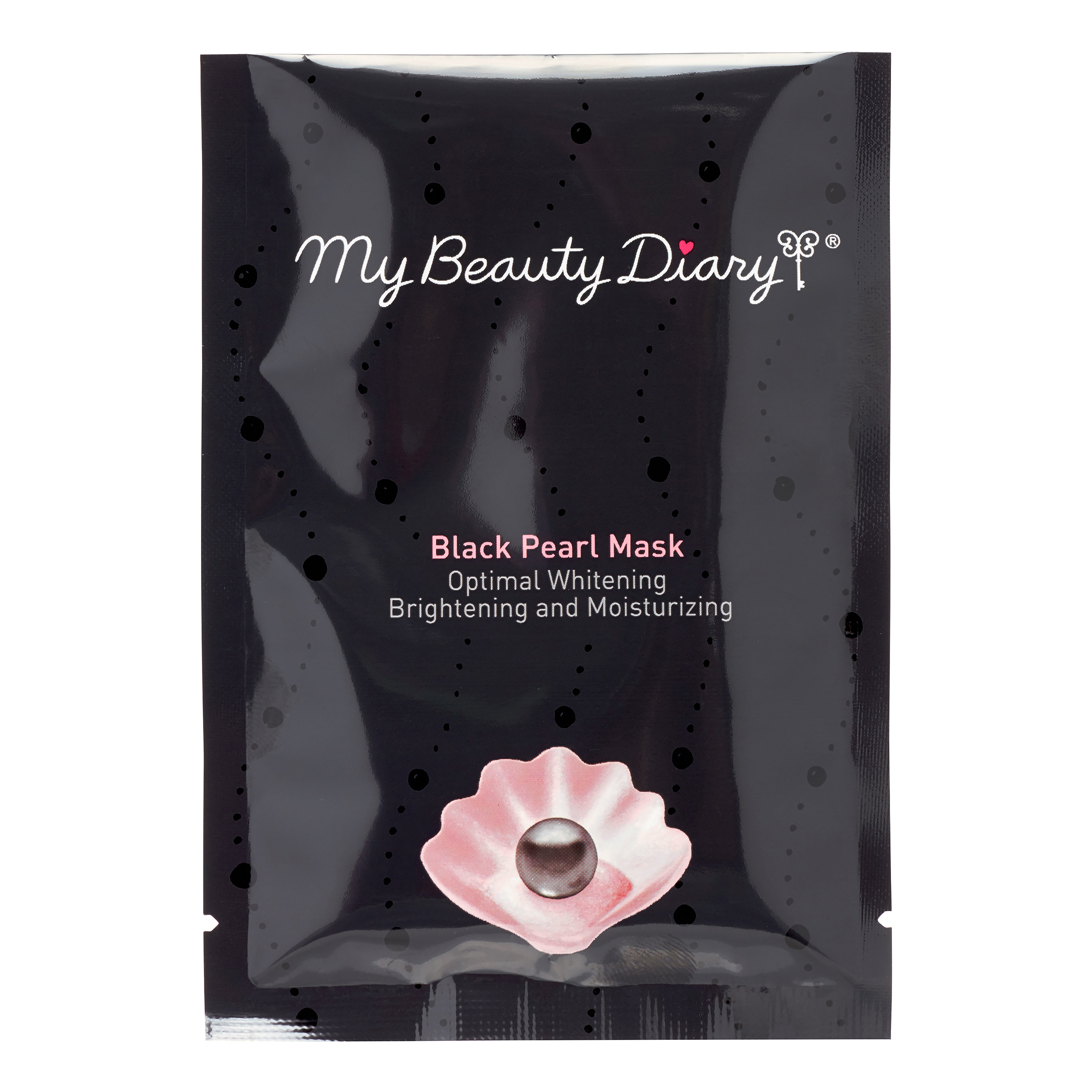 My Beauty Diary Black Pearl Face Mask, 10 count