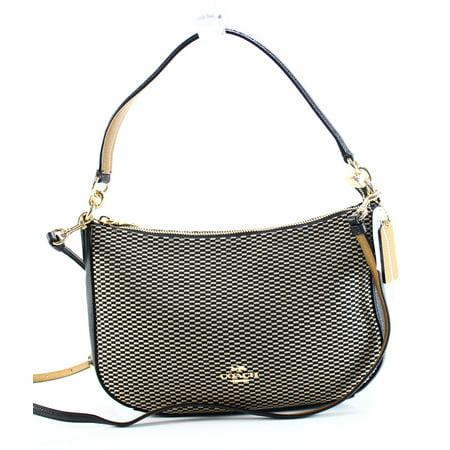 034b6f5062cd Coach NEW Brown Black Legacy Jacquard Chelsea Crossbody Handbag Purse -  Walmart.com