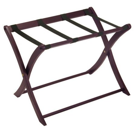 Winsome Wood Scarlett Luggage Rack, Espresso Finish - Kuryakyn Luggage Rack