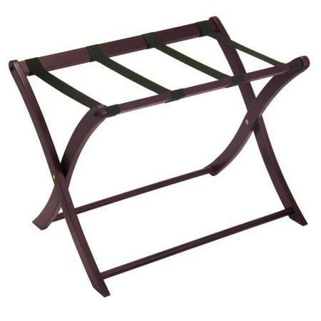 Winsome Wood Scarlett Luggage Rack, Espresso Finish