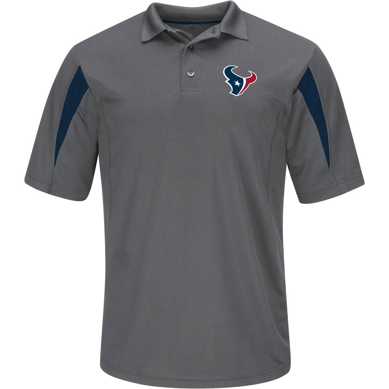NFL Houston Texans Big Men's Basic Polo