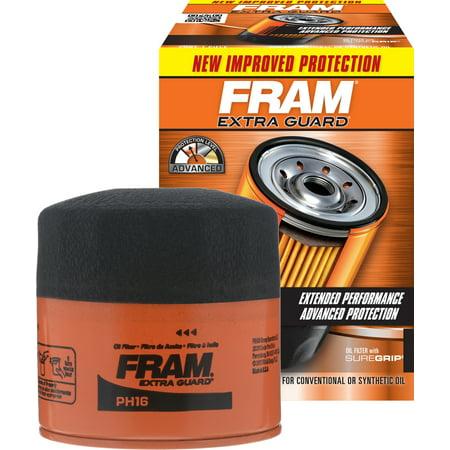 FRAM Extra Guard Oil Filter, PH16