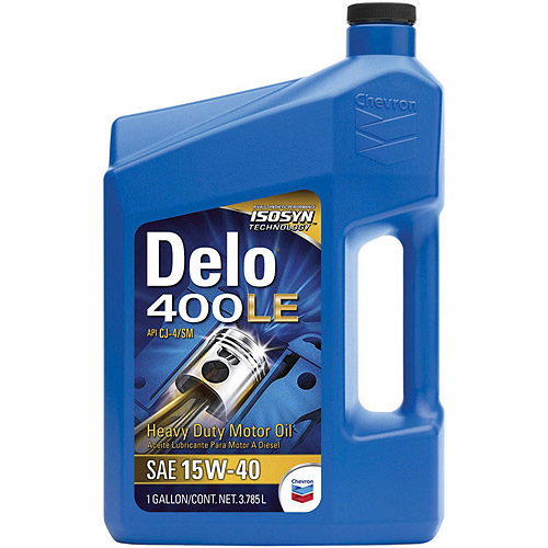Chevron Delo 400 CJ4 15W-40 Heavy Duty Motor Oil, 1 gal.