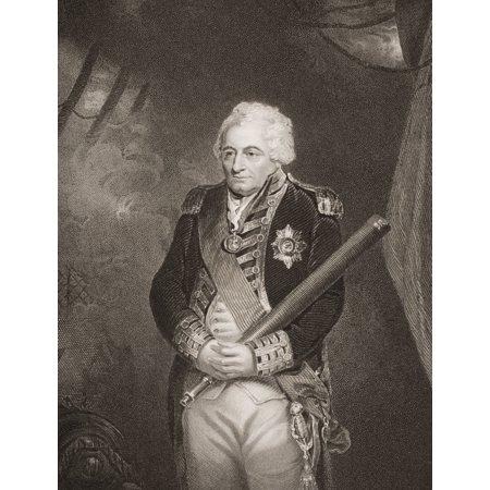 John Jervis1St Earl Of St Vincent 1735-1823 Admiral In The British Royal Navy Engraved By H Robinson From The Original Of Hoppner From Englands Battles By Sea And Land By Lieut Col Williams The