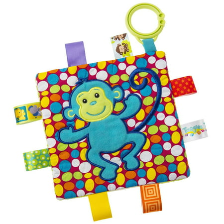 Crinkle Me Monkey Taggies - Baby Stuffed Animal by Mary Meyer (40075) (Puppy Monkey)