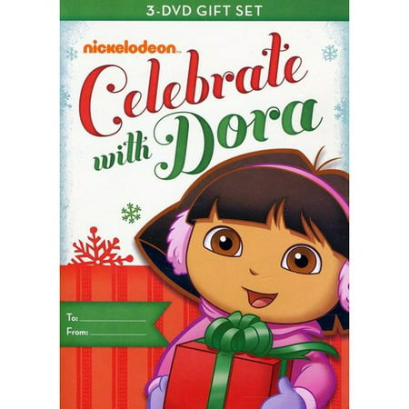 Dora The Explorer: Celebrate With Dora - Dora's Christmas / Dora's Halloween / Dora's Big Birthday Adventure (Full Frame) - Celebrate Halloween