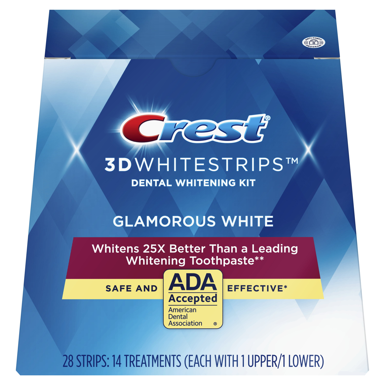 Crest 3D Whitestrips Glamorous White Teeth Whitening Kit