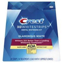 Whitening Strips & Gel: Crest 3D White Glamorous White