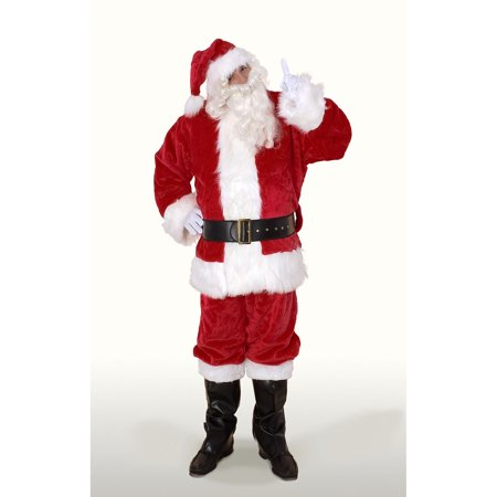 Sunnywood Ultra Deluxe Santa Claus Suit Adult Costume - Santa Claus Coat