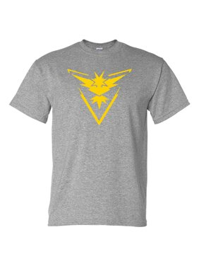 79f0f637 Product Image Pokemon Go Gym Team Instinct Yellow Mens Womens T-Shirt Top