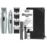 Wahl Mustache & Beard Battery Trimmer Kit With Bonus Nose Trimmer Model #5606-5601P