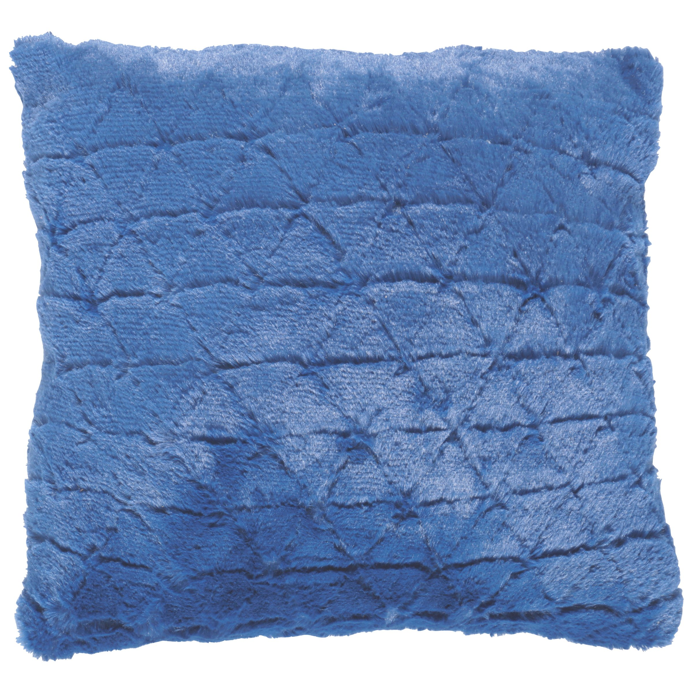 Your Zone Triangle Fur Pillow Assorted Colors