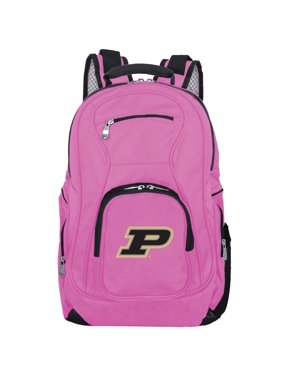 NCAA Purdue Boilermakers Pink Premium Laptop Backpack