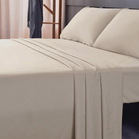 Bedding Sheet Setdeep Pocket Fitted Sheetflat Sheetpillowcases