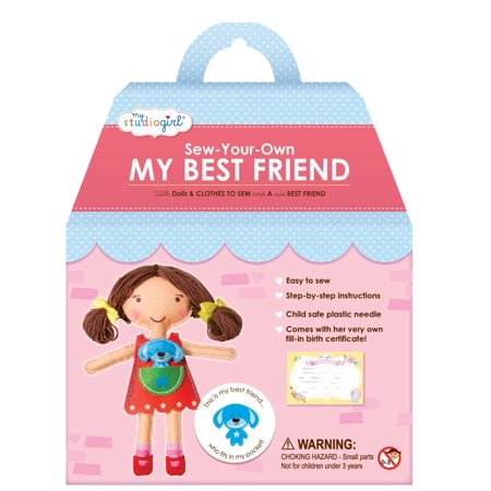My Studio Girl Best Friend Dolls   Brunette  Email Import Friends Tiny Photo Sleeve Brunette Shirt Town Book Fictional Stage Dolls Best Invisible    By U Create