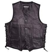 Mossi Mens Live To Ride Vest Size 42 Black P/N 20-108L-42