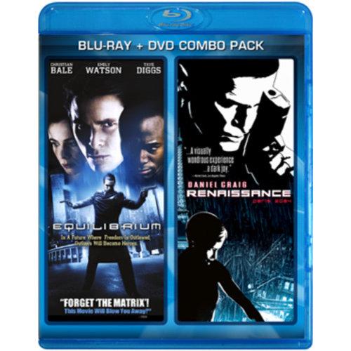 Equilibrium / Renaissance: Paris 2054 (Blu-ray + DVD) (Widescreen)