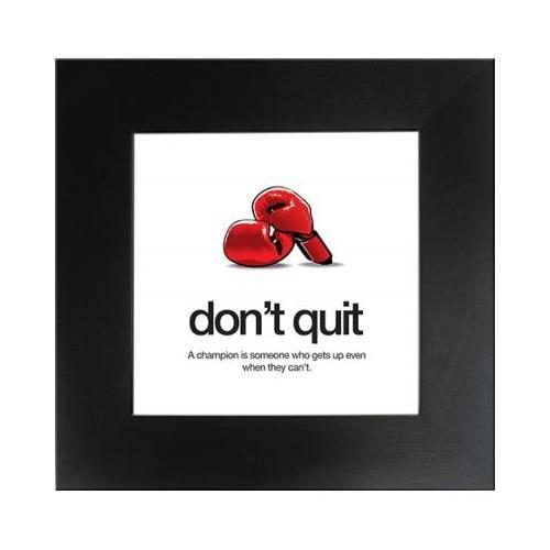 Motivational Poster - 19 x 19 Don't Quit AUAMPDONT