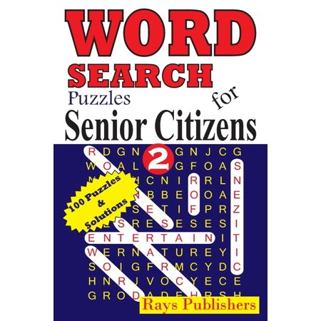 Word Search Puzzles for Senior Citizens: Word Search Puzzles for Senior Citizens 2 (Paperback)(Large Print) - Halloween Crafts For Senior Citizens