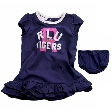 Polo By Ralph Lauren Infant Girl's 2-Piece Navy Graphic Dress Set