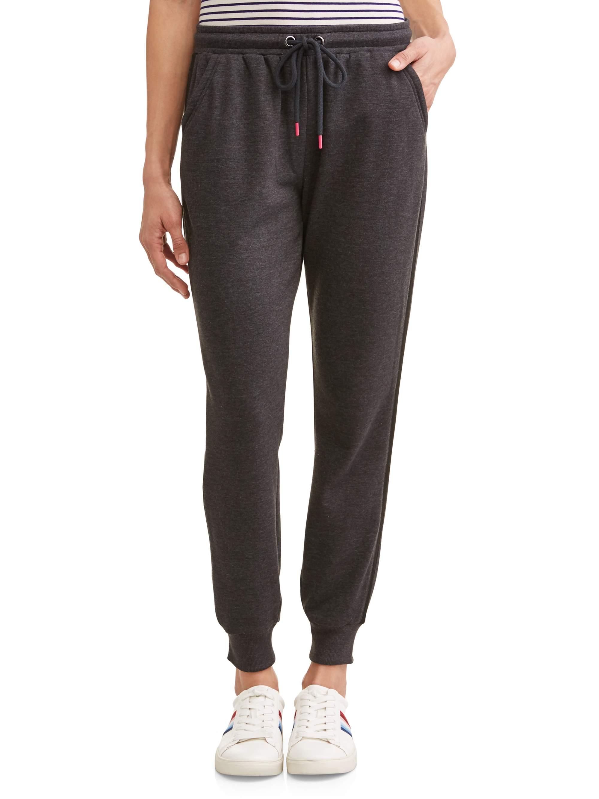 Side Stripe Jogger Sweatpant Women's (Black)