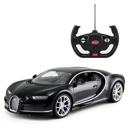 1 14 Scale Bugatti Chiron Radio Remote Control Model Car R C Licensed Product Toy Car Rc  Black