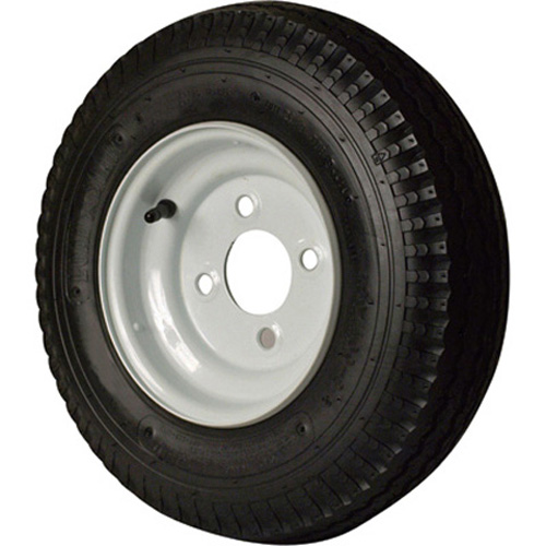 American Tire 570 X 8 (C) Tire And Wheel 4 Hole Galvanized P/N 30130