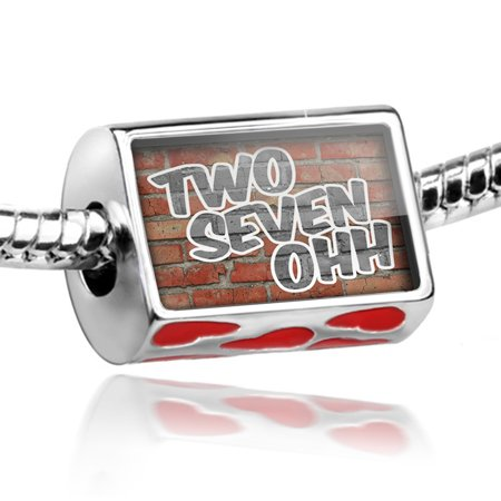 Bead 270 Bowling Green, KY brick Charm Fits All European Bracelets ()