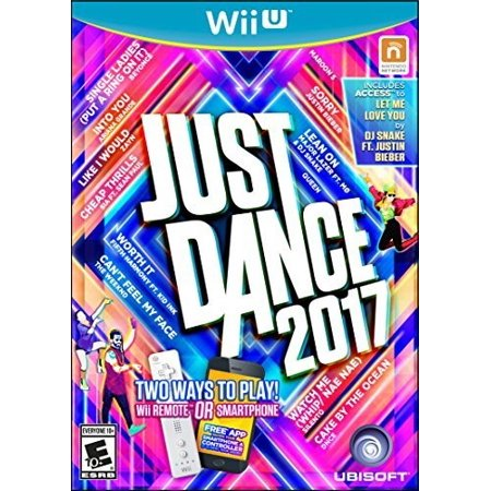 Just Dance 2017, Ubisoft, Nintendo Wii U, 887256023041