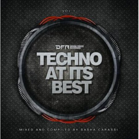 Techno at It's Best Presented By Sascha Carassi (CD) (Halloween Music Techno)